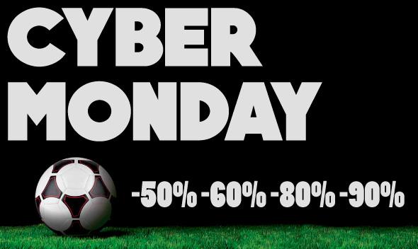 Arriva il Cyber Monday su Soccer Time: continuano gli sconti su tutti i prodotti!