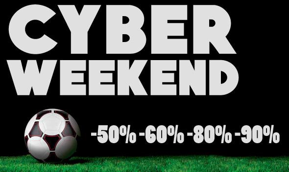 Cyber Week End su Soccer Time: ancora tantissimi prodotti ad un prezzo eccezionale!