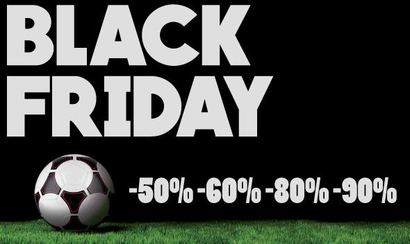 Black Friday su Soccer Time: tutti i prodotti ad un costo scontatissimo!