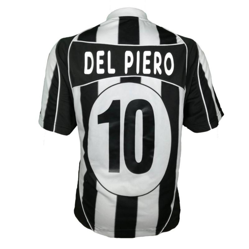 MAGLIA HOME FC JUVENTUS DEL PIERO N.10 2002/2003