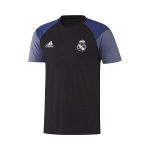 T-SHIRT NERA  REAL MADRID