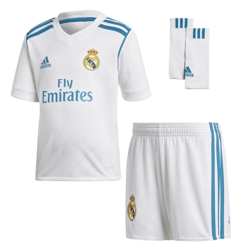 KIT HOME BAMBINO REAL MADRID 2017/2018