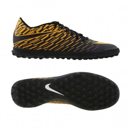 scarpe da calcetto nike nere/arancio bravata ii tf