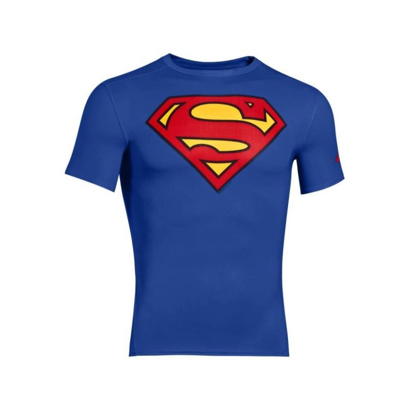 T-SHIRT ALLENAMENTO UNDER ARMOUR SUPERMAN