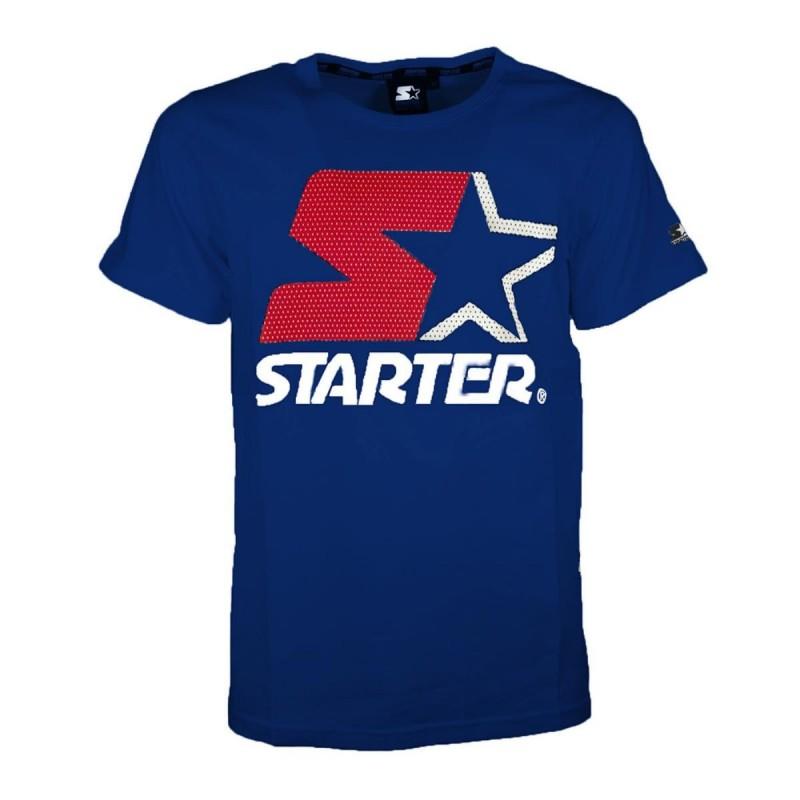 T-SHIRT STAR BLU STARTER