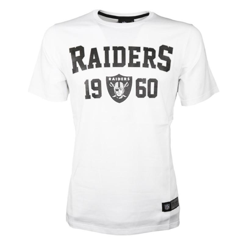 T-SHIRT RAIDERS BIANCA NFL