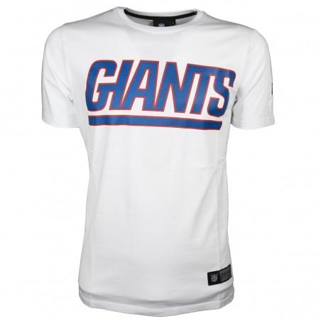 T-SHIRT GIANTS BIANCA NFL