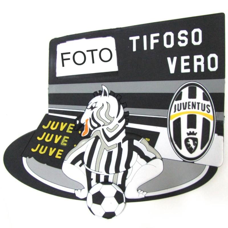 TARGA IN PVC CON ZEBRA JUVENTUS FC