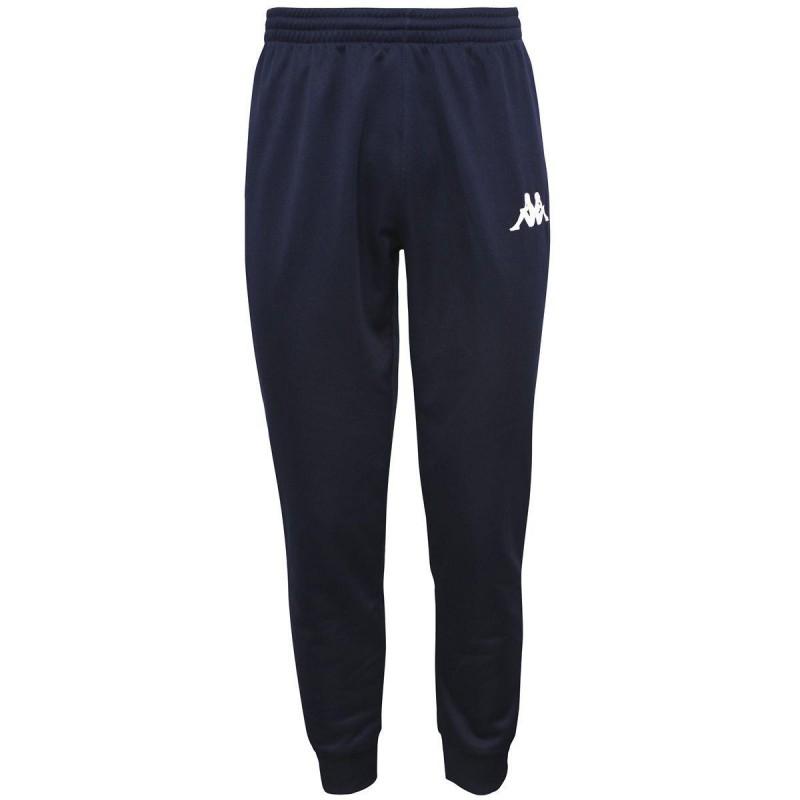 pantaloni allenamento blu marino kappa
