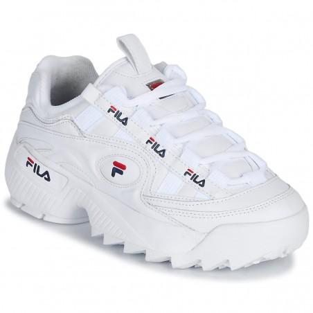 scarpe donna fila d-formation bianche
