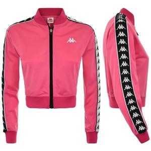 giacca corta rosa donna kappa