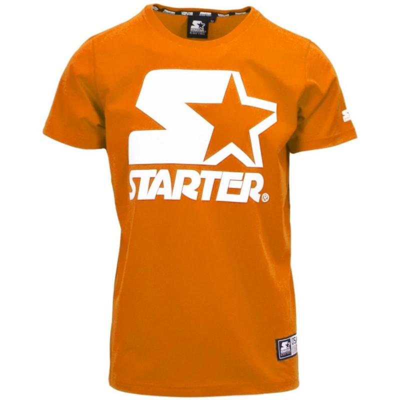 T-SHIRT ARANCIO STARTER