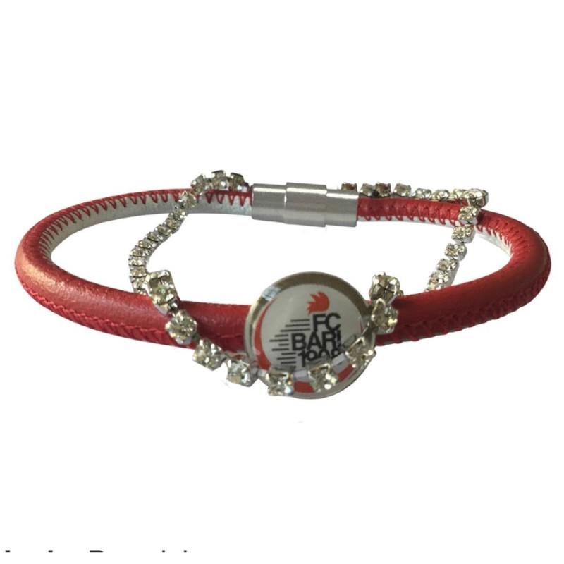 bracciale in pelle bijoux bari