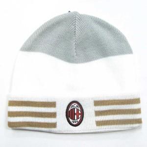 cappello lana bianco rigato...