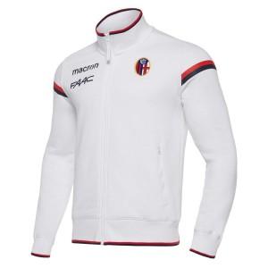 FELPA FULL ZIP BIANCA FC...