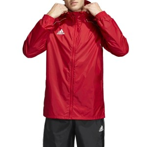 giacca antipioggia rossa...