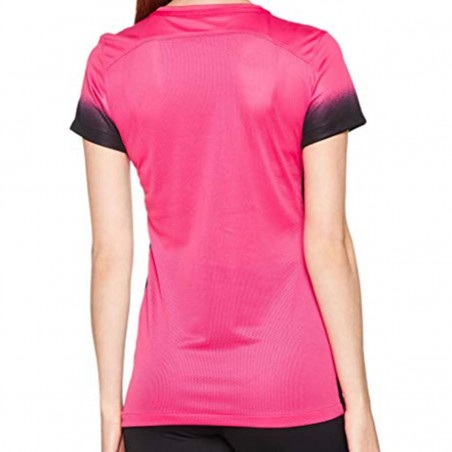 maglia training pro rosa donna nike