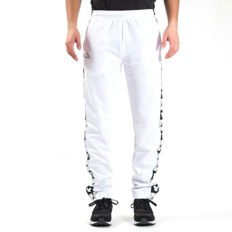 pantaloni bianchi disney con cappuccio kappa