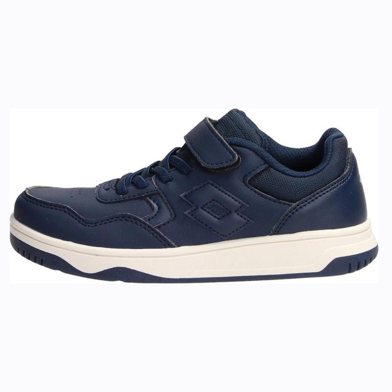 scarpe blu bambino tracer lotto