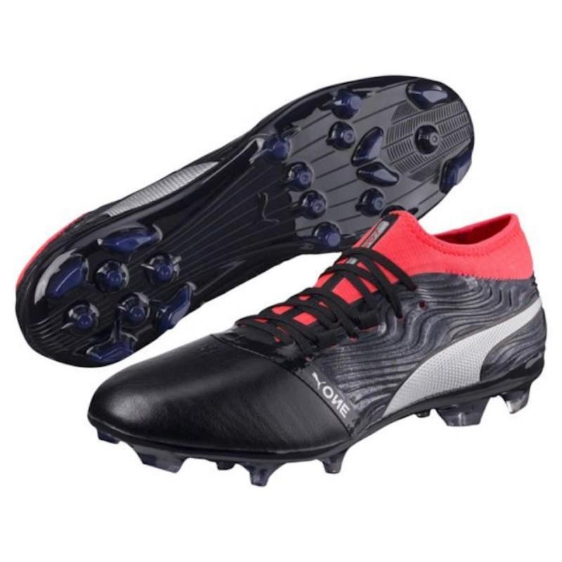 scarpe da calcio nere puma one 18.2 ag