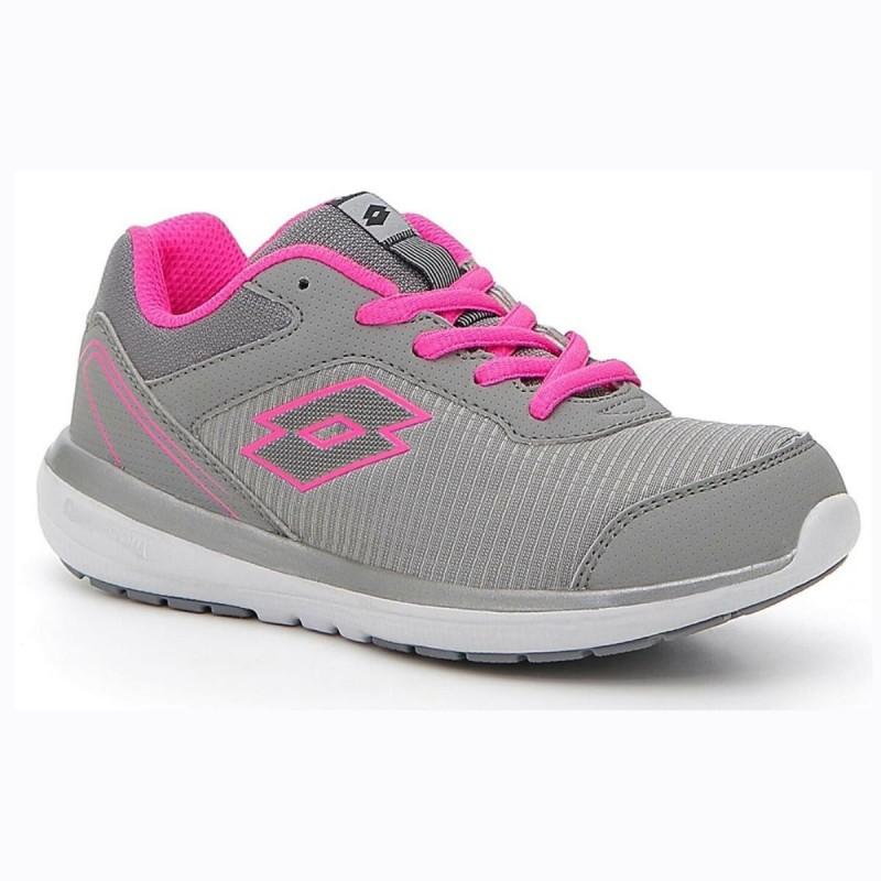 scarpe grigio/rosa cityride mix bambino lotto