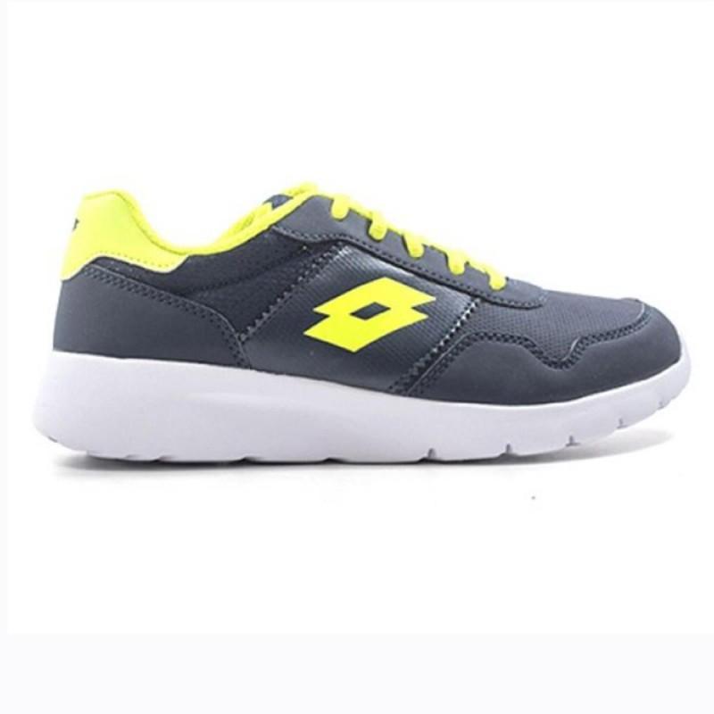 scarpe nere/gialle bambino megalight ultra lotto