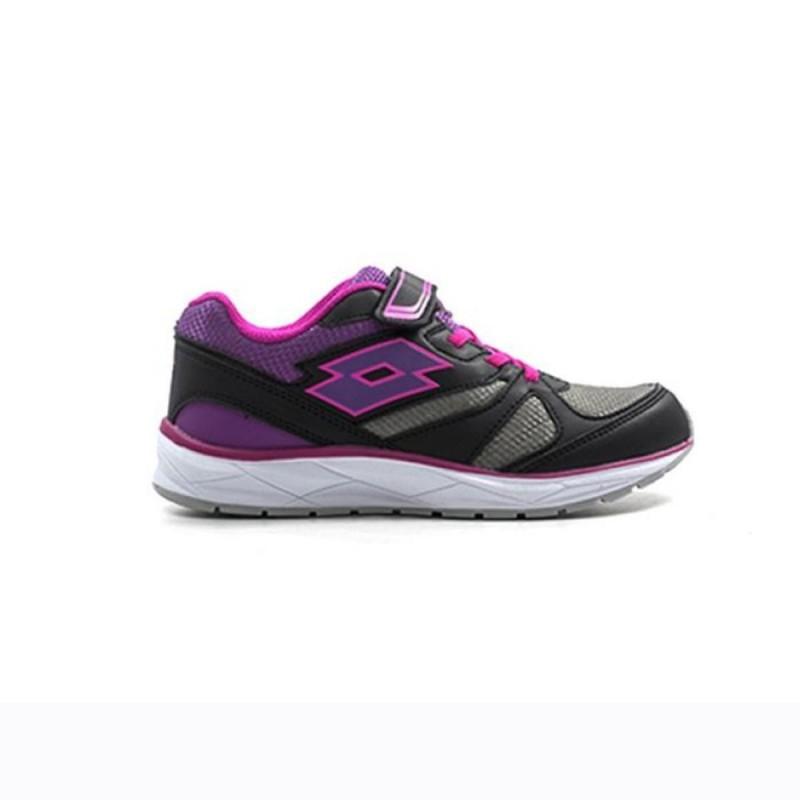 scarpe nero/viola speedride 600 ii bambino lotto