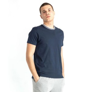 T-SHIRT GIROCOLLO NAVY...