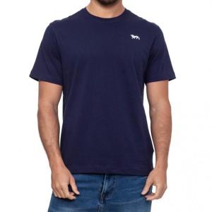 t-shirt logo navy lonsdale