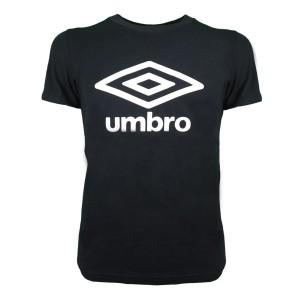 T-SHIRT NERA LOGO UMBRO