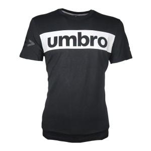 T-SHIRT SPORT NERA UMBRO