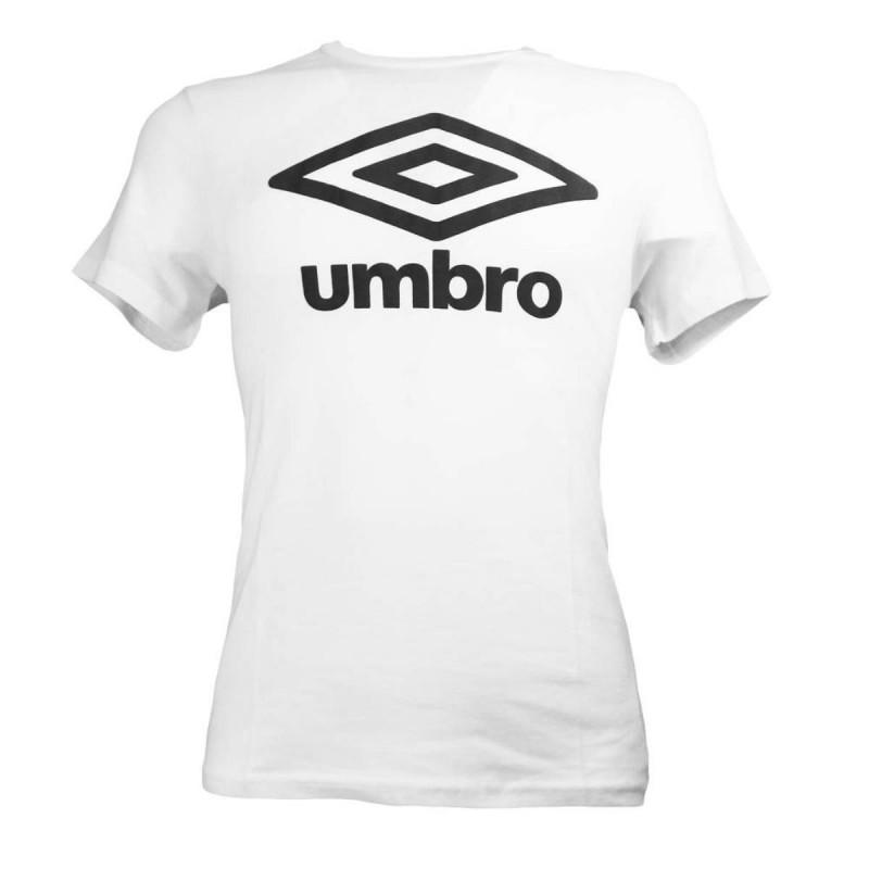 T-SHIRT BIANCA LOGO UMBRO