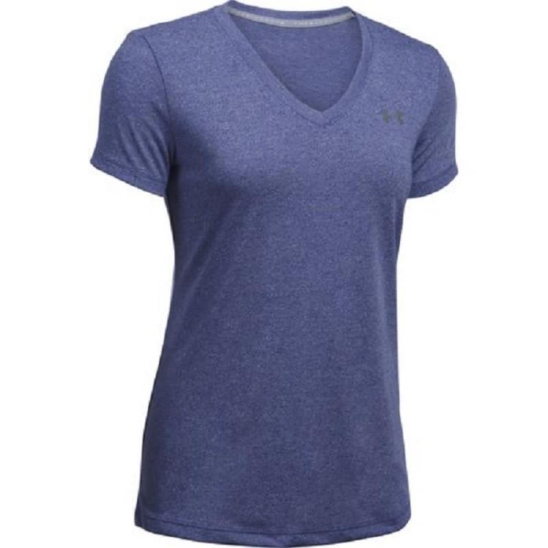 t-shirt viola donna threadborne under armour