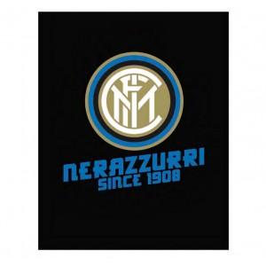 PLAID IN PILE NERO FC INTER