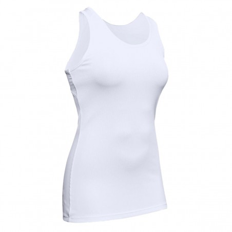 canotta donna under armour bianca victory